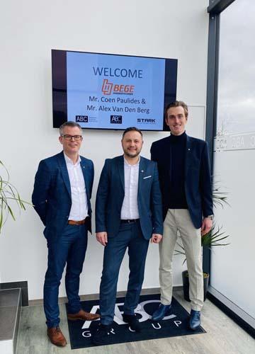 Coen Paulides & Alex Van Den Berg - BEGE Power Transmission